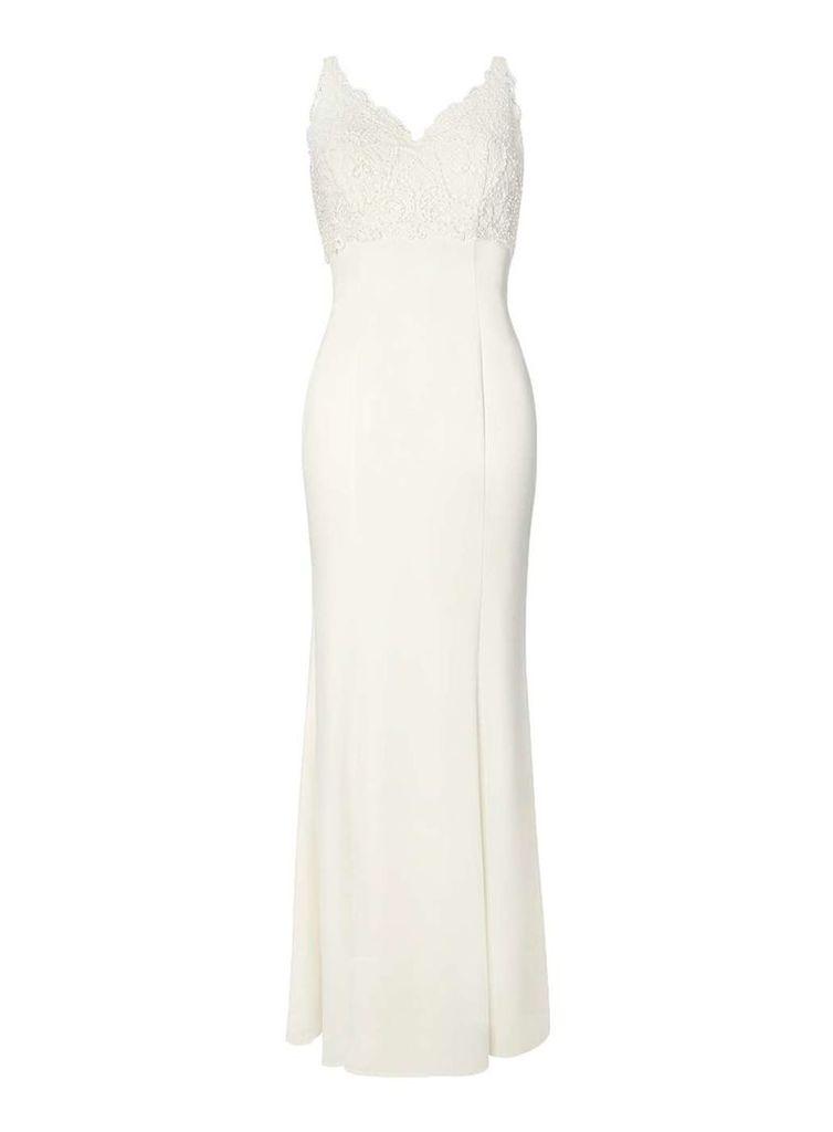 Womens **Ivory Alessandra Bridal Dress- Ivory