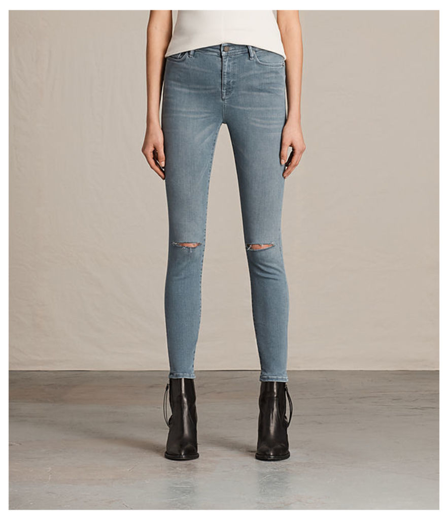Eve Lux Slash Jeans