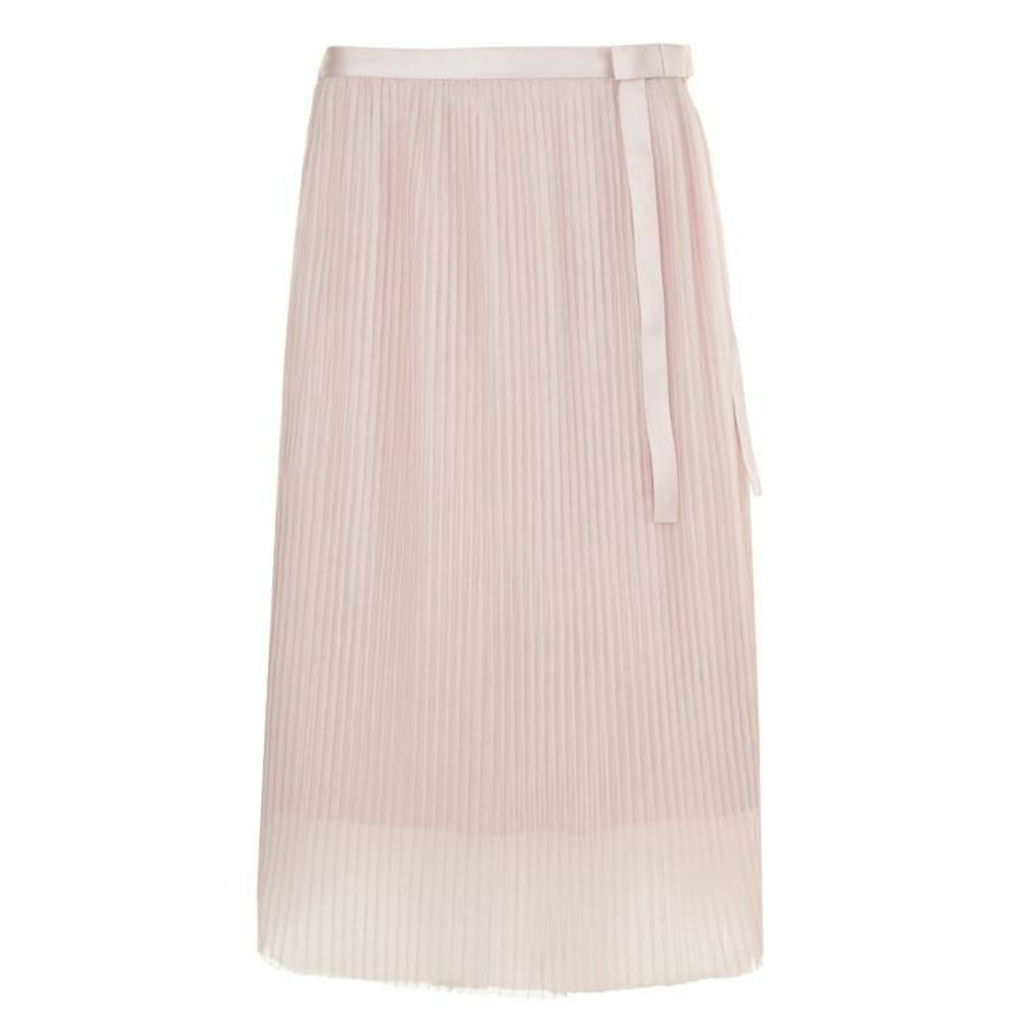 DARLING Roxy Pleated Midi Skirt