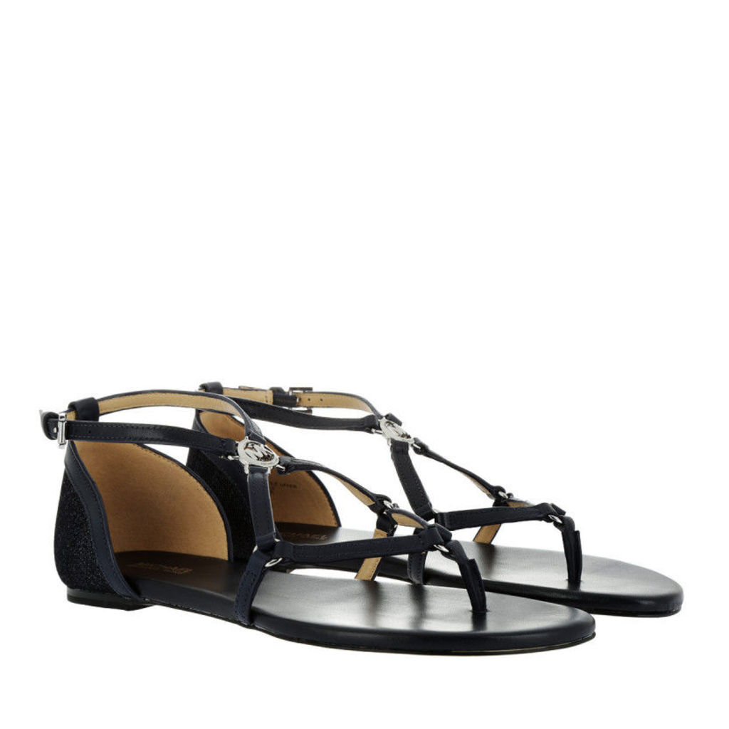 Michael Kors Sandals - Terri Flat Sandal Dark Denim/Admiral - in blue - Sandals for ladies