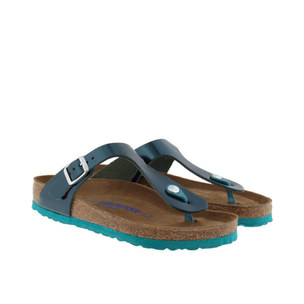 Birkenstock Sandals - Gizeh BS Regular Fit Sandal Metallic Green - in green - Sandals for ladies