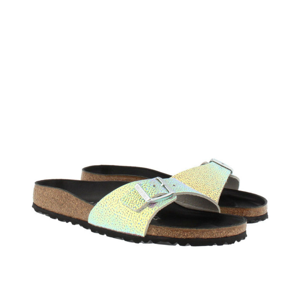 Birkenstock Sandals - Madrid BS Narrow Fit Sandal Ombre Pearls Silver Black - in colorful - Sandals for ladies