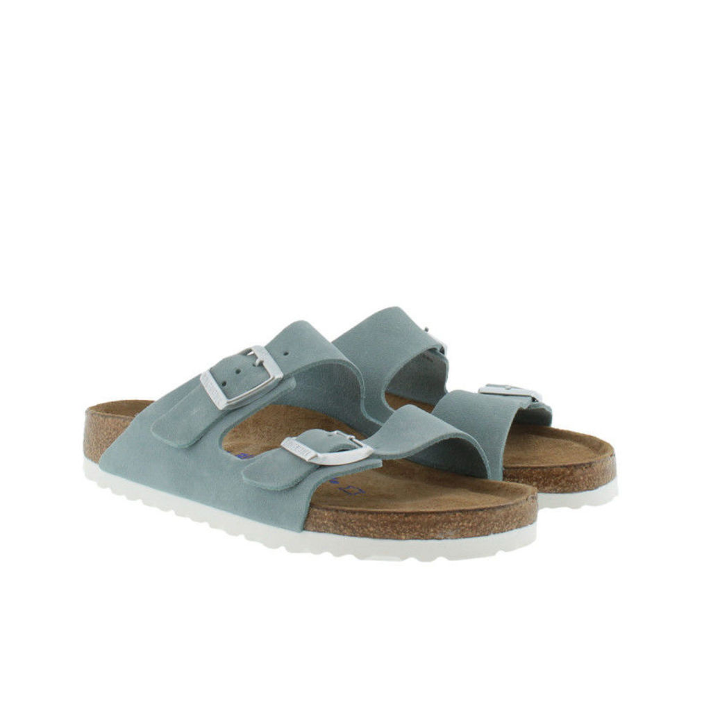 Birkenstock Sandals - Arizona BS Narrow Fit Sandal Light Blue - in blue - Sandals for ladies