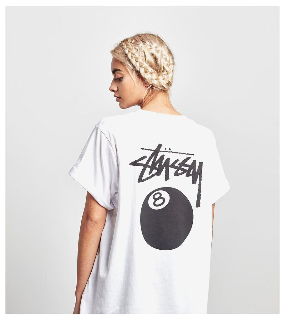 Stussy 8 Ball T-Shirt, White