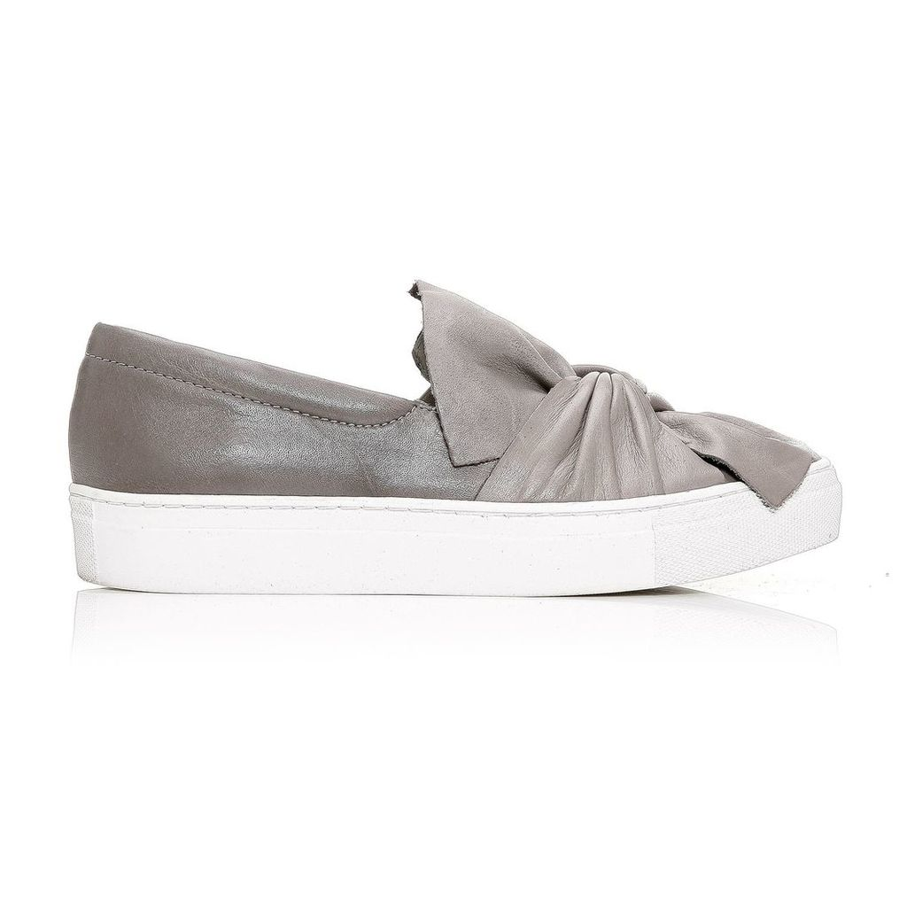 Moda in Pelle Annie Grey Low Leisure Shoes