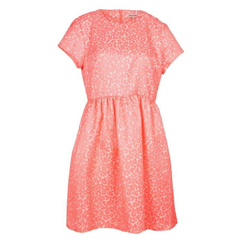 JUICY COUTURE Candy Pop Wild Cheetah Dress