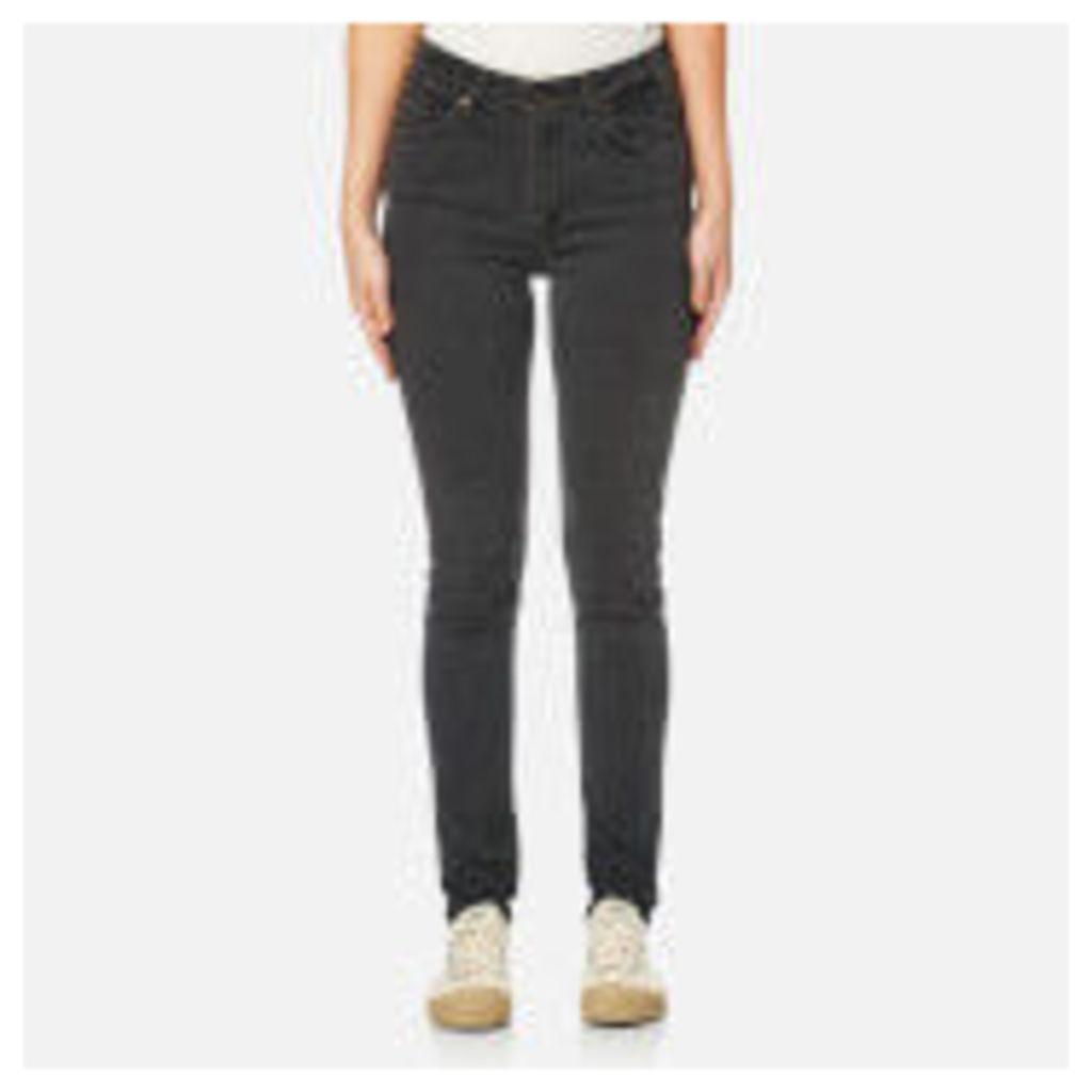 Levi's Women's Orange Tab 721 Vintage High Skinny Jeans - Black Widow