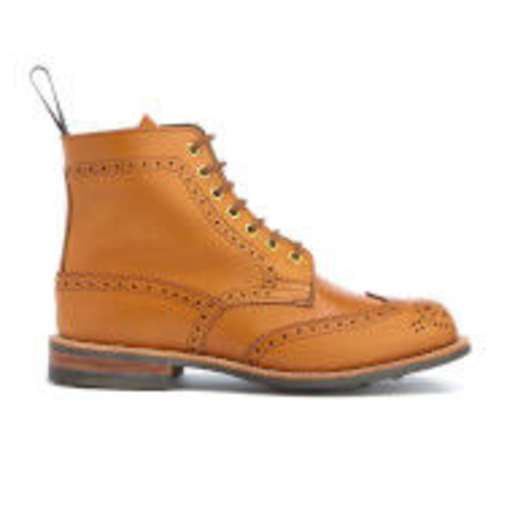 Knutsford by Tricker's Women's Stephy Leather Lace Up Boots - Acorn