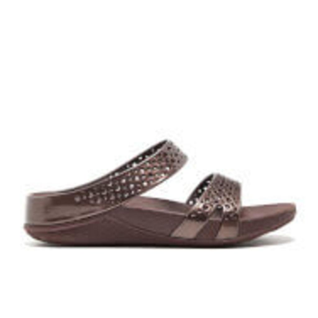 FitFlop Women's Welljelly Z-Slide Sandals - Bronze