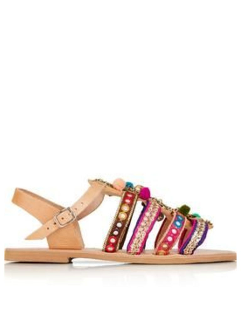 Mabu By Maria Bk Cassie Embellished Sandals - Multi
