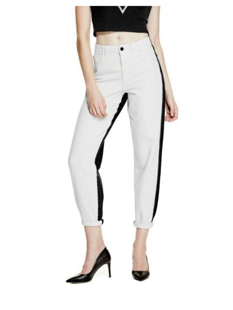 Guess Colour Contrast Boyfriend Jeans