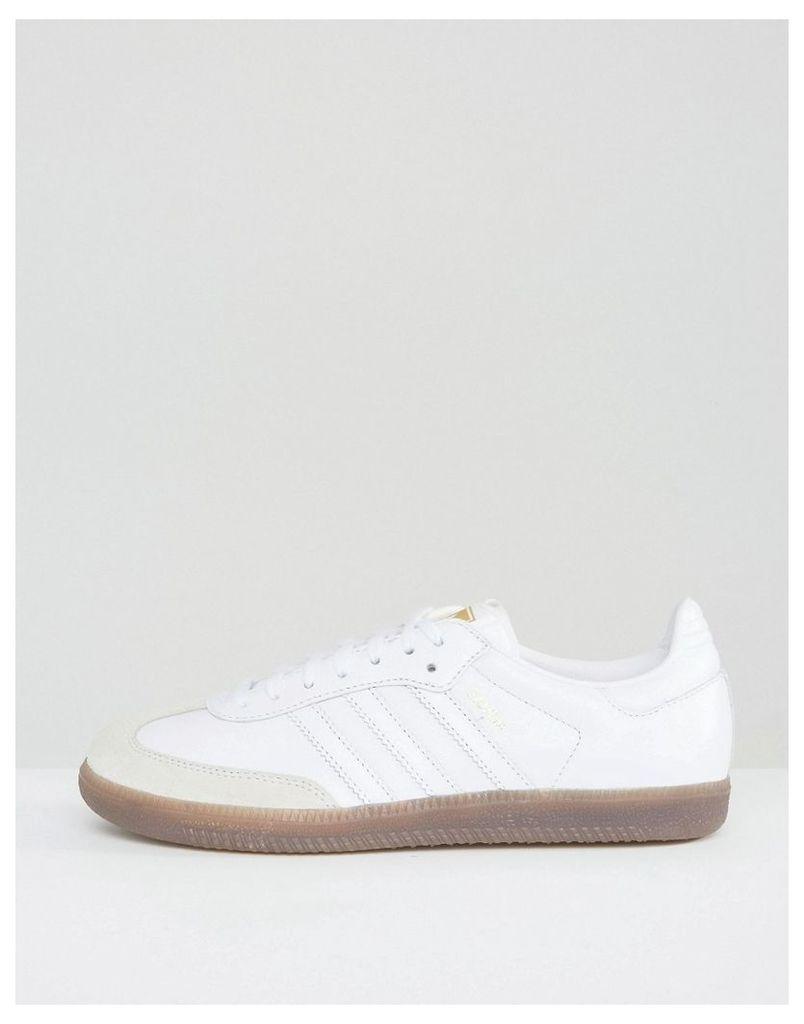adidas Originals White Samba OG Trainers - Ftwr white