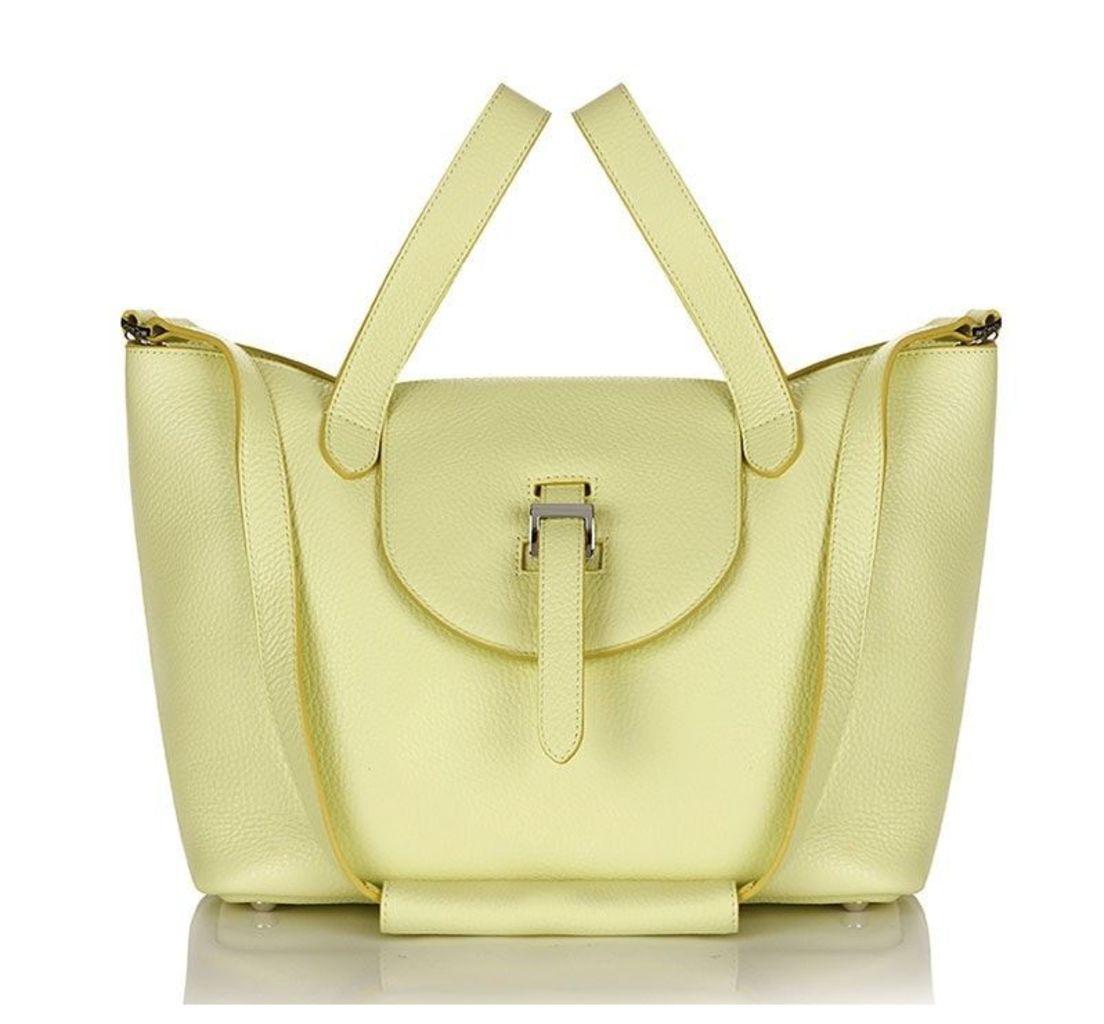 Thela Medium Tote Bag Lime