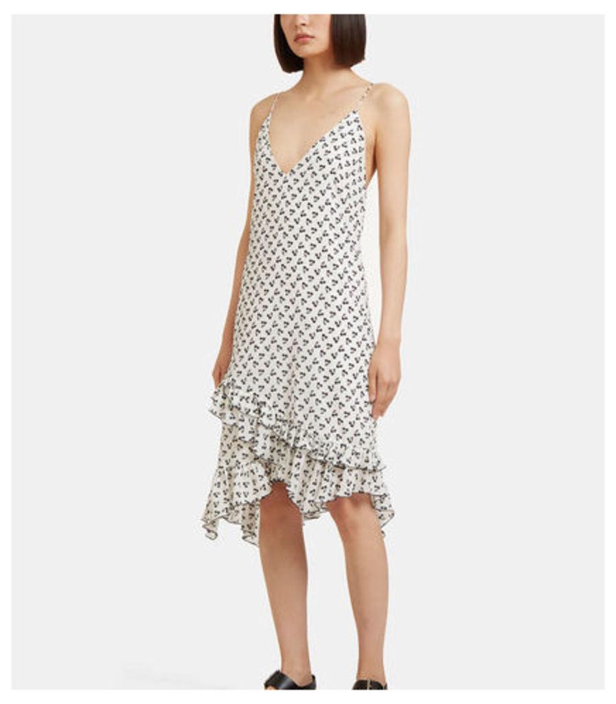 Flora Cherry Print Dress