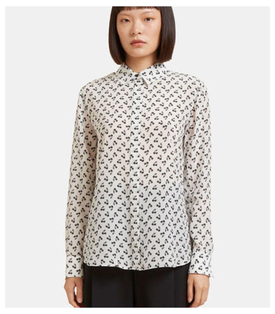 Chika Cherry Print Shirt