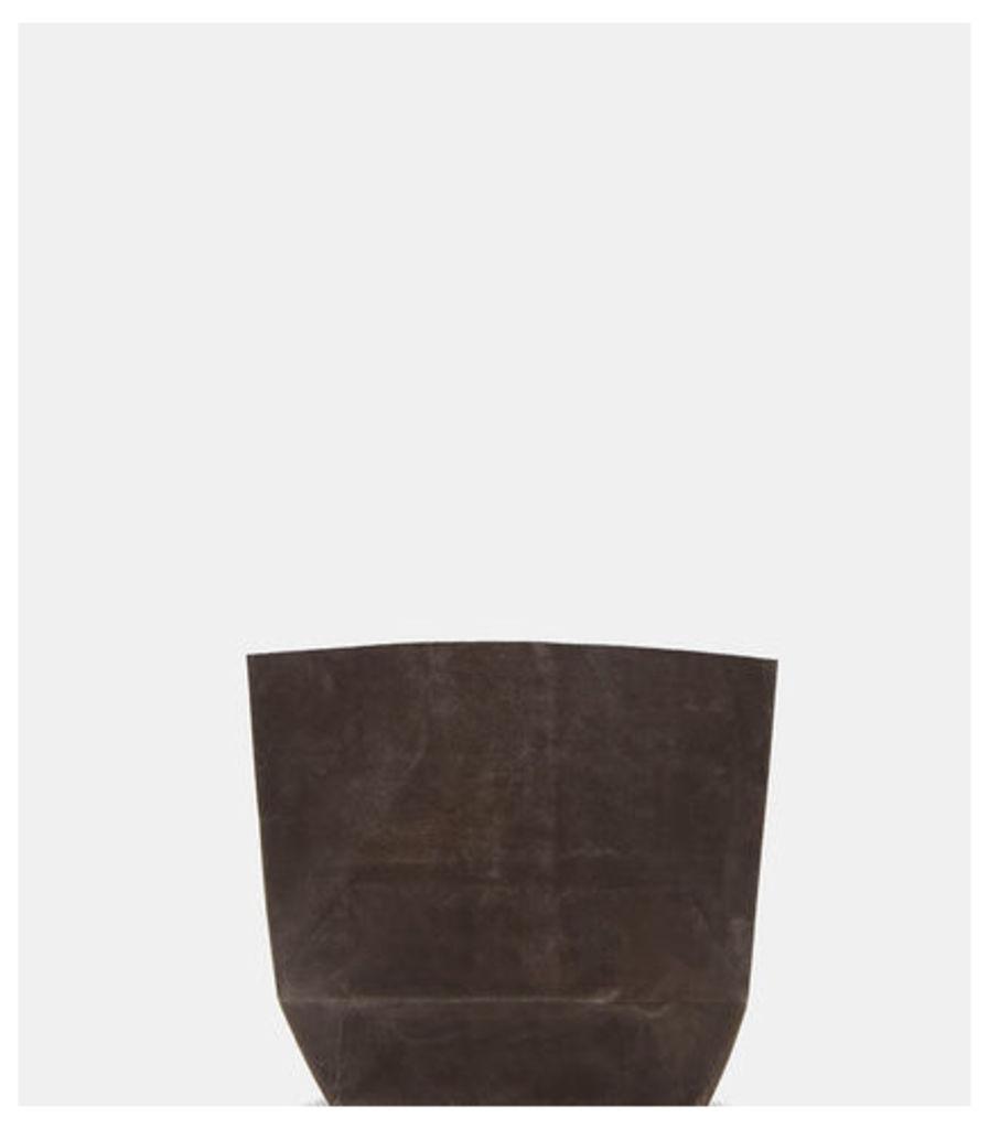 D Waxed Canvas Handleless Bag