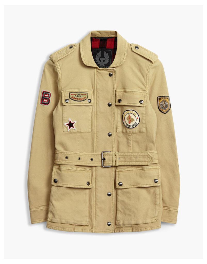 Belstaff Houghton Patch Field Jacket Medium Beige