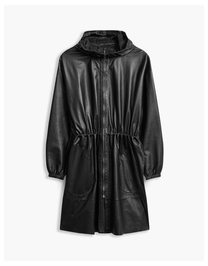 Belstaff Hidcote Hooded Parka Jacket Black