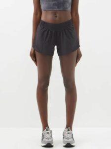Albus Lumen - Porto Cotton-blend Ribbed-jersey Wrap Skirt - Womens - Burgundy