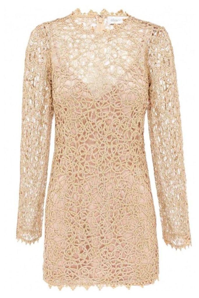 Pablo Mini Dress Gold