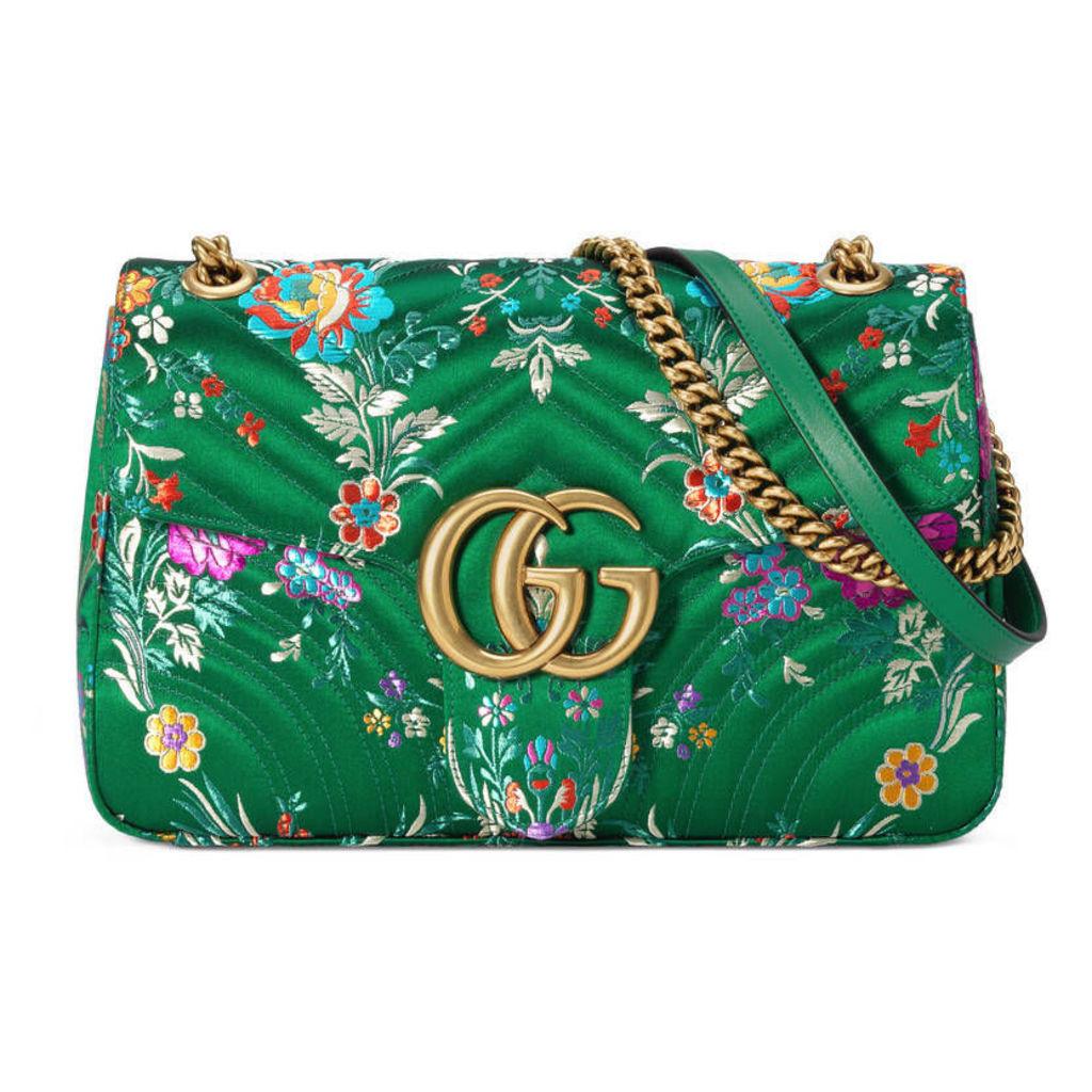 GG Marmont floral jacquard shoulder bag