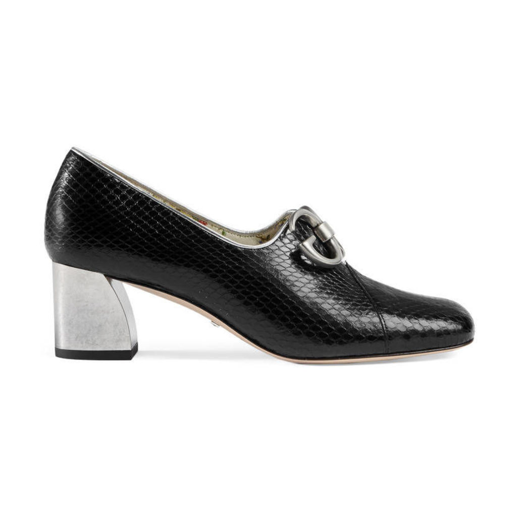 Ayers mid heel pump
