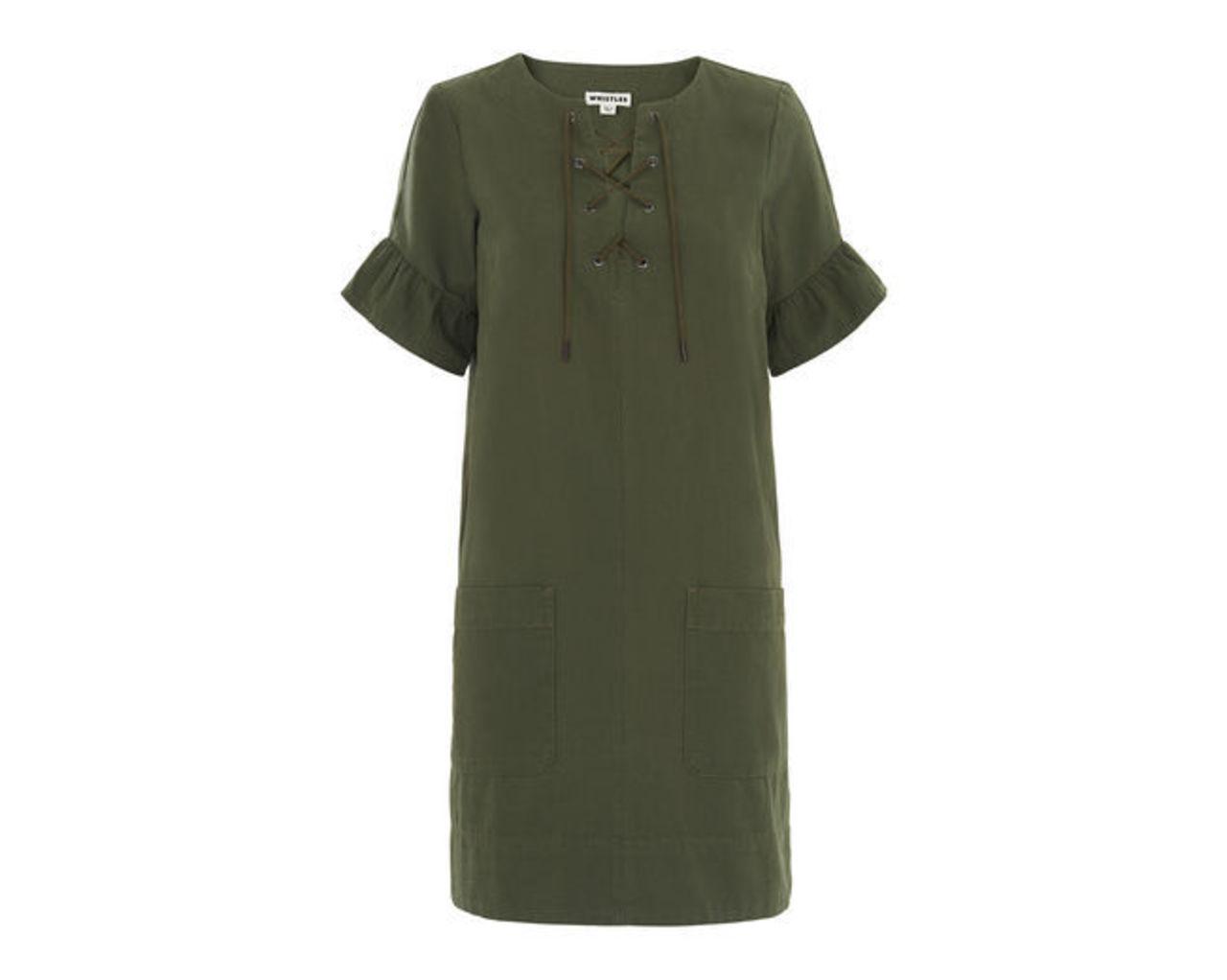 Gemma Tie Front Dress