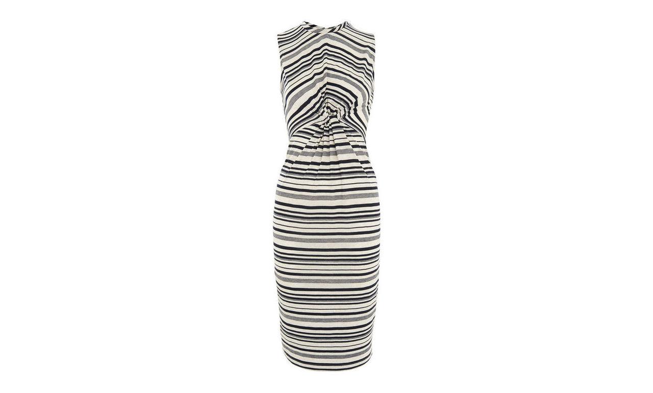 Carrie Stripe Jersey Dress