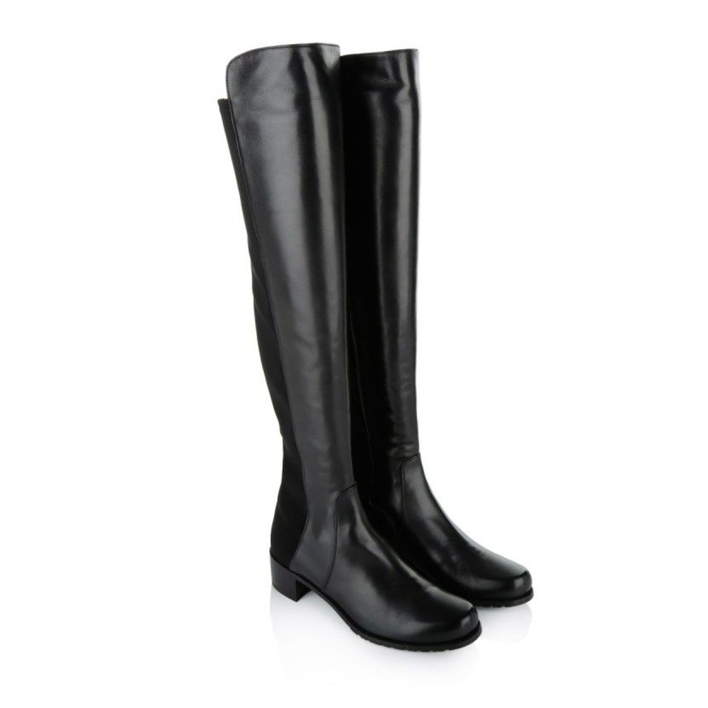 Stuart Weitzman Boots & Booties - Reserve Nappa Boots Black - in black - Boots & Booties for ladies