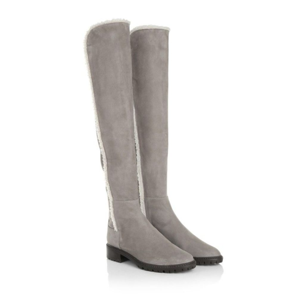 Stuart Weitzman Boots & Booties - Parka Suede Topo - in brown - Boots & Booties for ladies