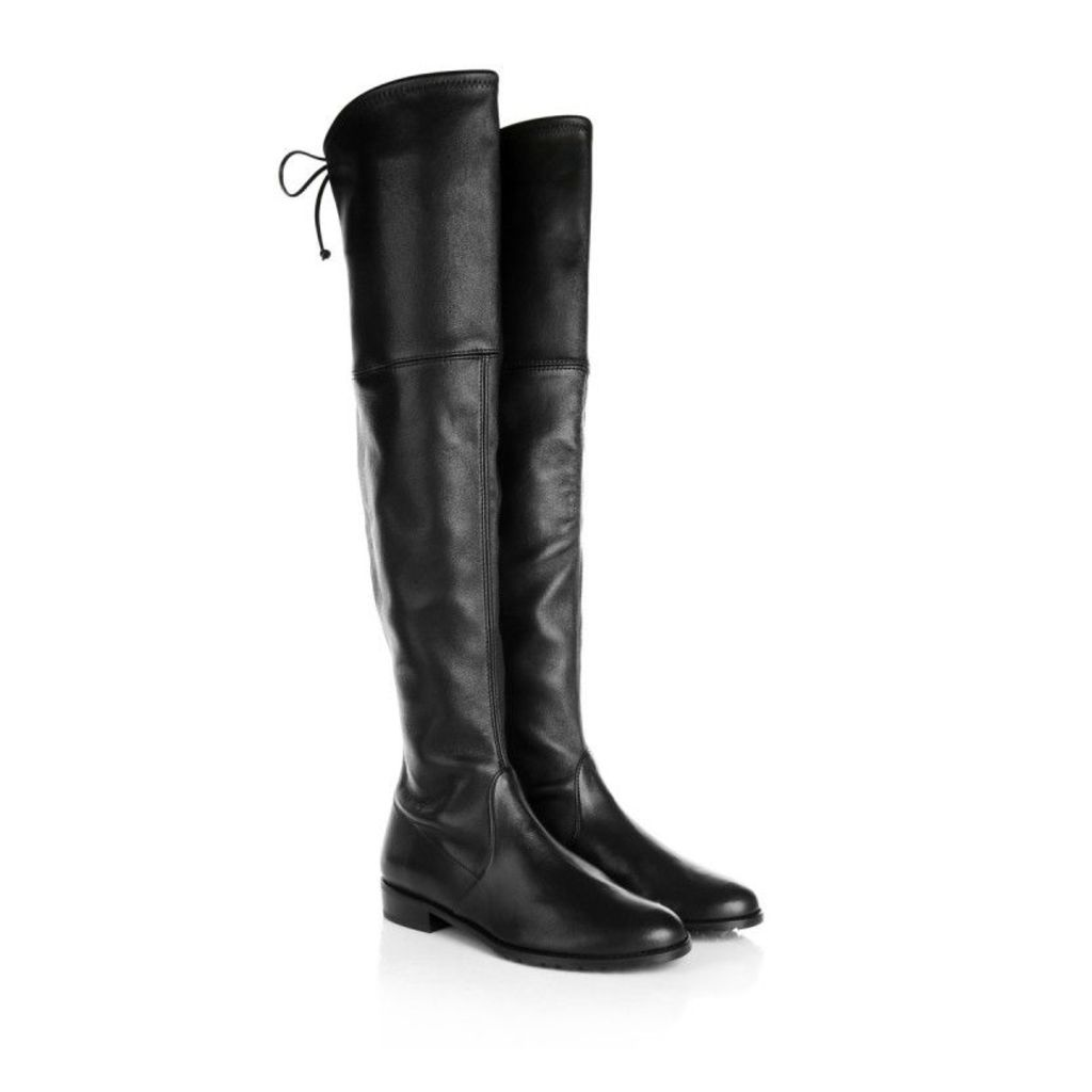 Stuart Weitzman Boots & Booties - Lowland Plonge Stretch Nero - in black - Boots & Booties for ladies