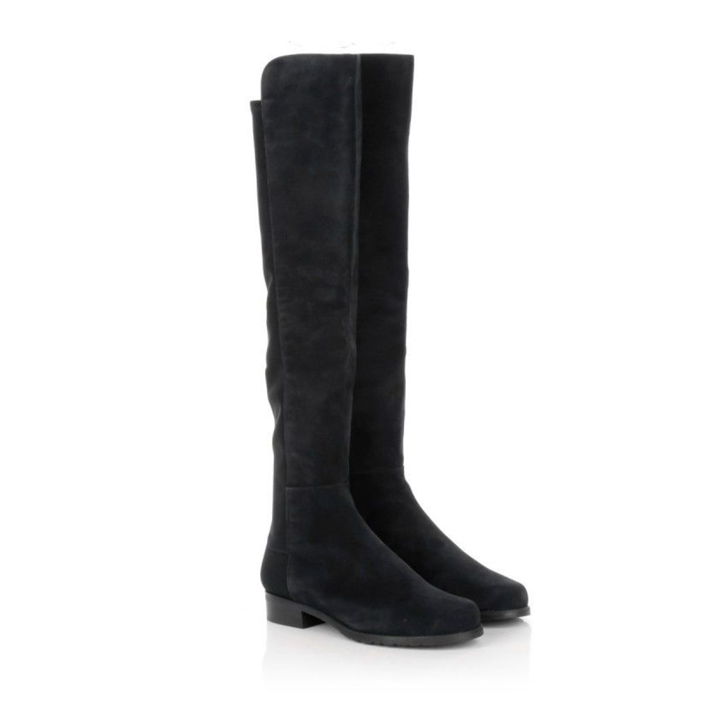 Stuart Weitzman Boots & Booties - 5050 Black Suede - in black - Boots & Booties for ladies
