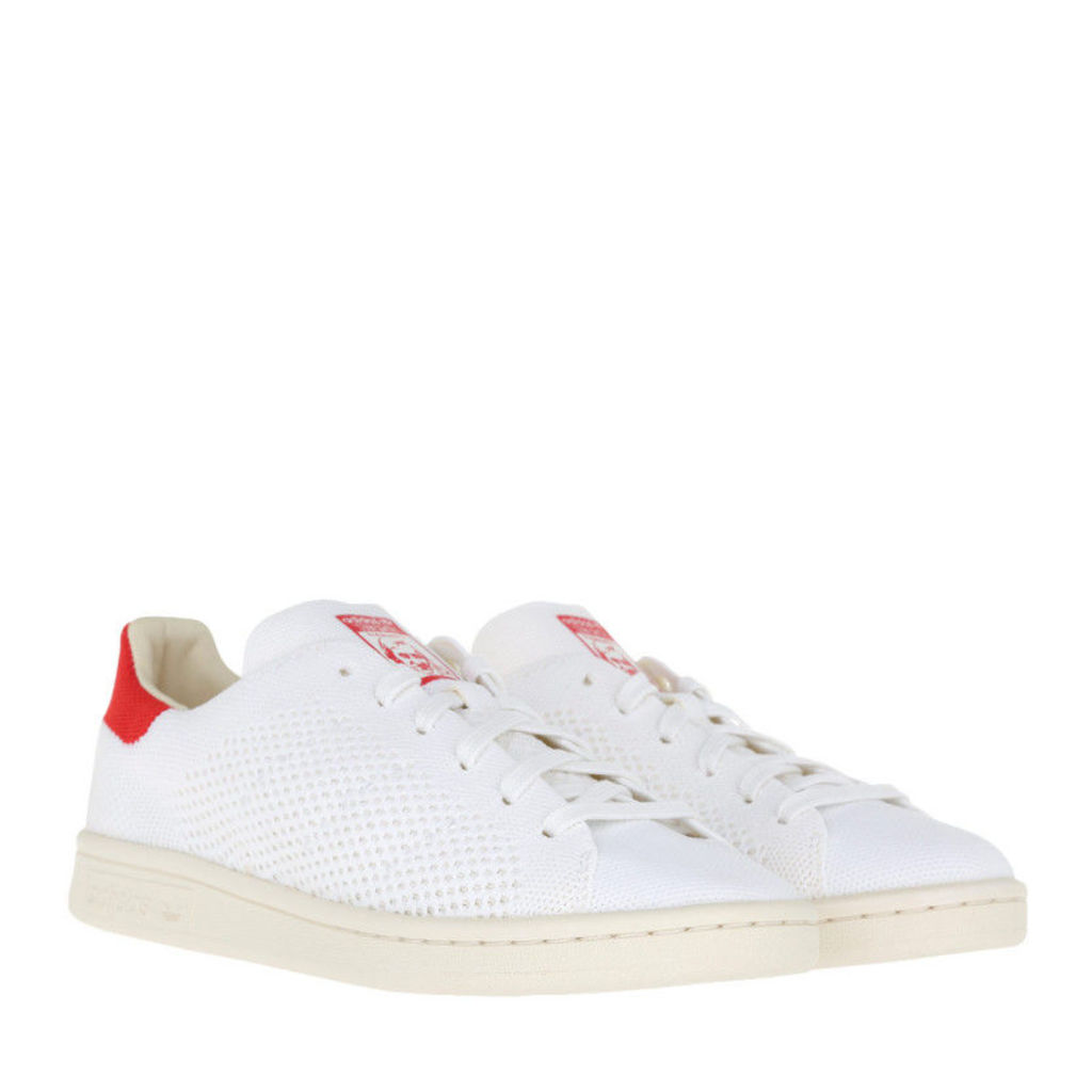 adidas Originals Sneakers - Stan Smith OG Primeknit Sneaker White/Chalk White/Red - in white - Sneakers for ladies