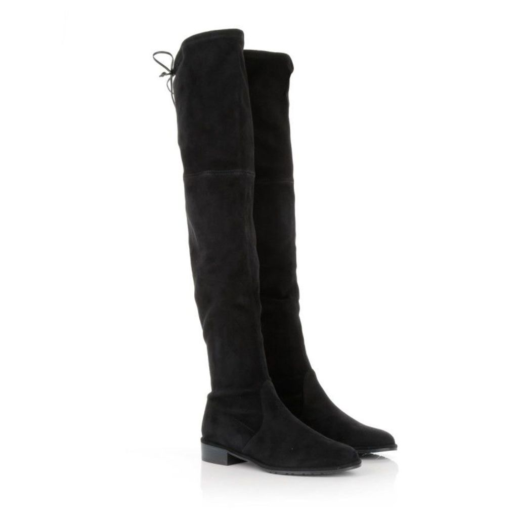 Stuart Weitzman Boots & Booties - Lowland Suede Boots Black - in black - Boots & Booties for ladies