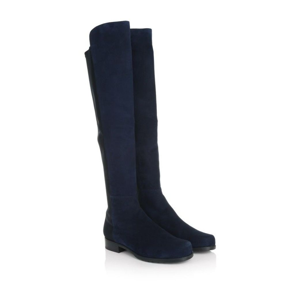 Stuart Weitzman Boots & Booties - 5050 Suede Nice Blue - in blue - Boots & Booties for ladies