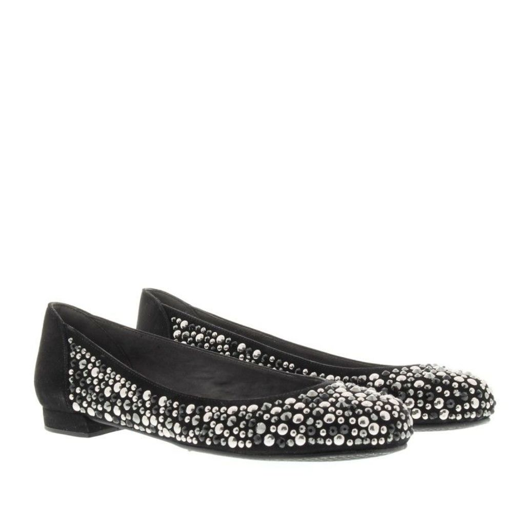 Stuart Weitzman Ballerinas - Rockette Flats Black Suede - in black - Ballerinas for ladies