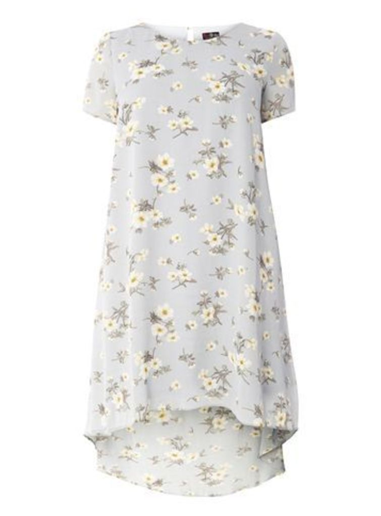 Lovedrobe Multi Floral Shift Dress, Bright Multi