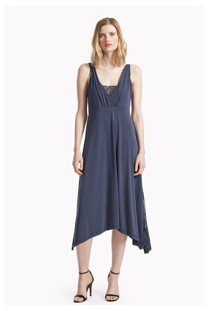 Sand Dance Jersey Lace Dress