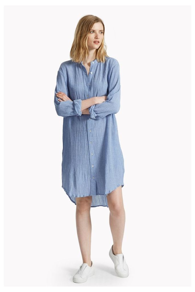 Falmouth Crinkle Shirt Dress
