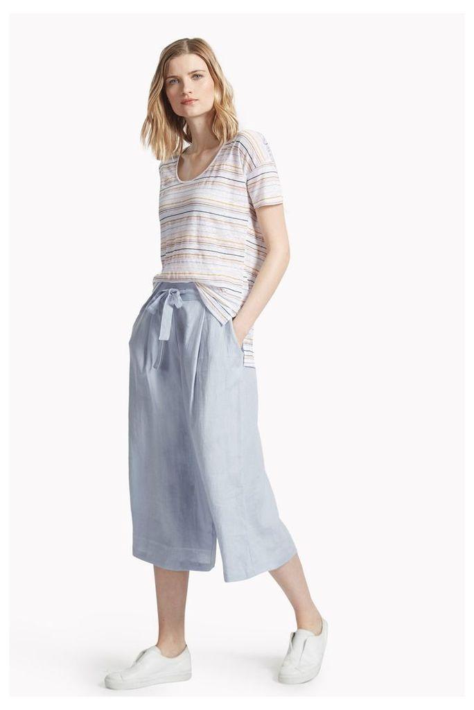 Lindisfarne Linen Wide Leg Trousers