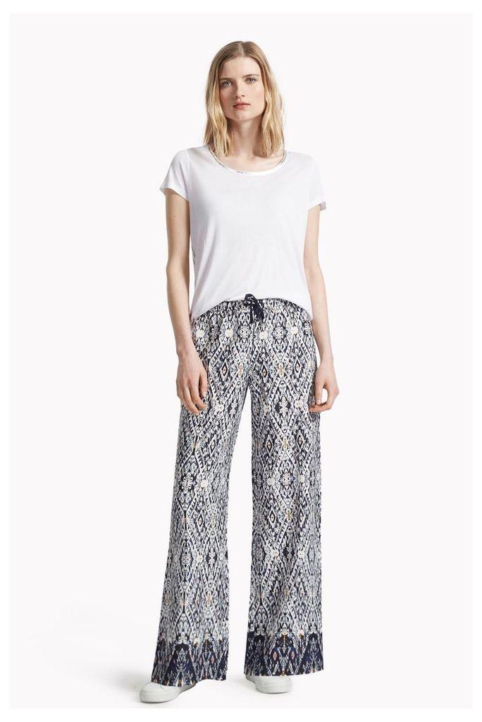 Diamond Daze Drawcord Waist Trousers