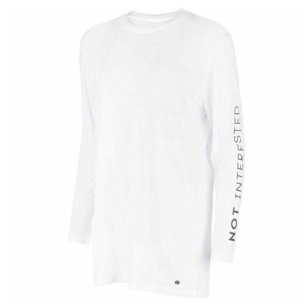 Firetrap Not Interested T Shirt