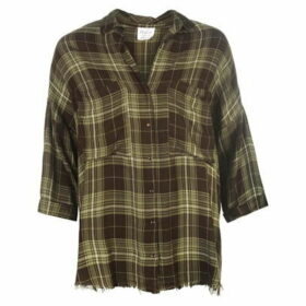Firetrap Blackseal Check Shirt - Khaki