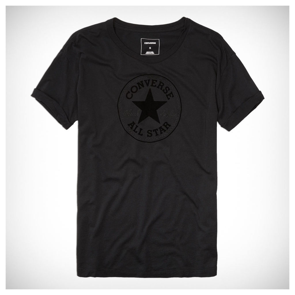 Women's Elevated Chuck Patch Easy Crew Tee