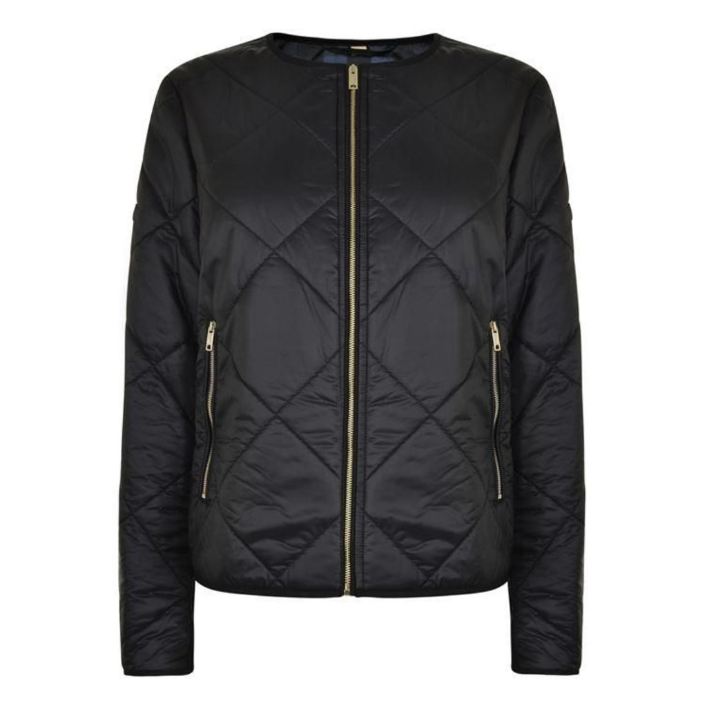 BURBERRY LONDON Dovecote Quilted Tech Jacket