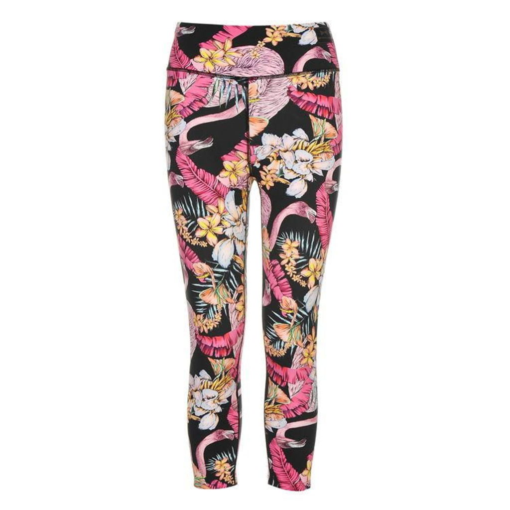 USA PRO BY MATTHEW WILLIAMSON Printed Capri Leggings