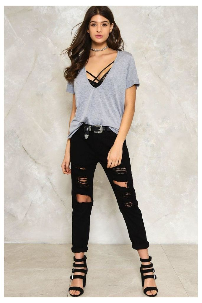 Tear You Apart Distressed Jeans