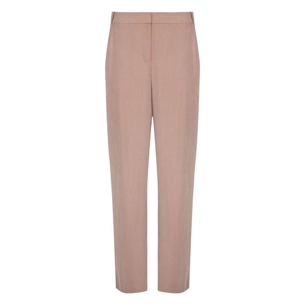 Blush Soft Slim Leg Trousers