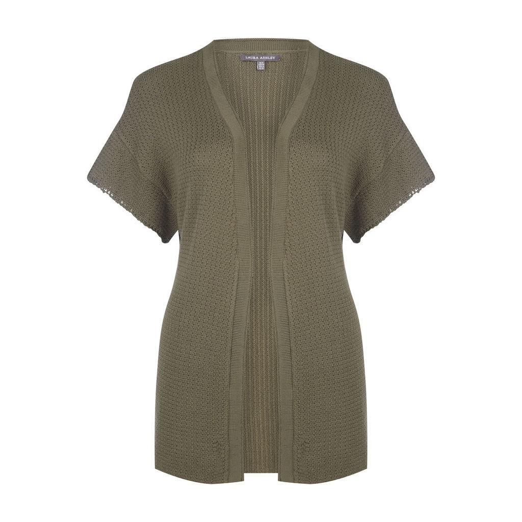 Short Sleeve Kimono Cardigan