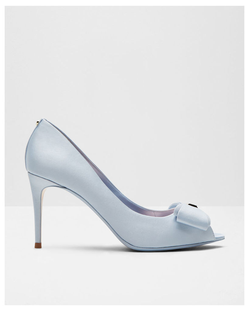 Ted Baker Bow detail peep-toe courts Light Blue